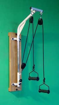 Shoulder Pulley Unit With Rope Adjuster (Wall Moun