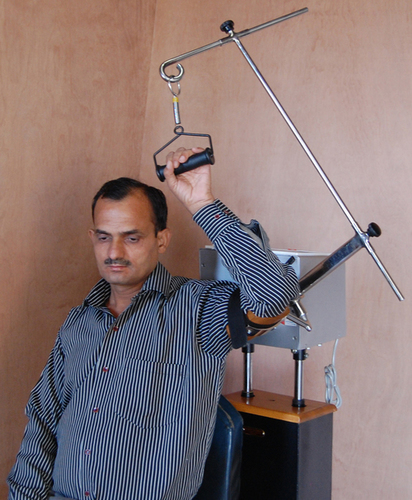 Continuous Passive Motion Unit, Shoulder