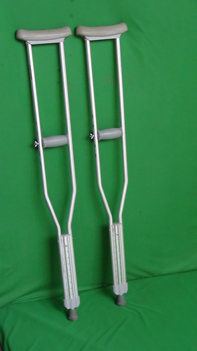 CRUTCH UNDER ARM (PVC Sheathed Aluminium Body)
