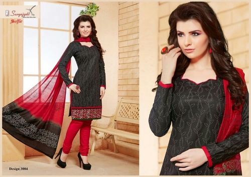 SELFIE Cotton Embroidery Suits