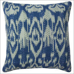 Ikat Print Cushion Cover