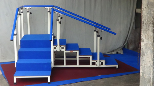 EXERCISE STAIRCASE With Tubular Base (Corner Type,