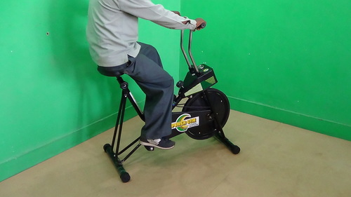 STATIC CYCLE EXERCISER (Power-Gym)
