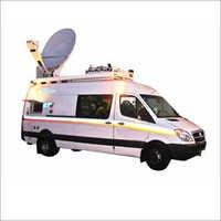 Mobile Satellite Van