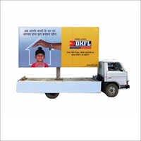 Mobile Display Hoarding Van