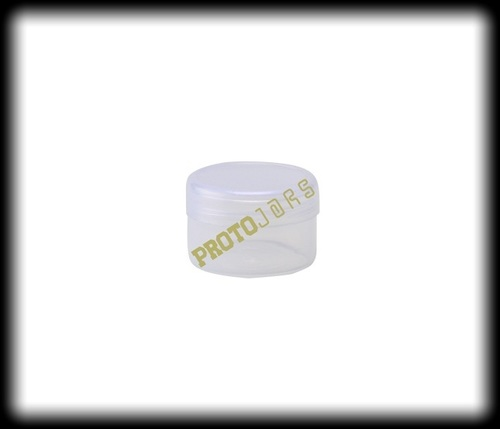 15 ML Clear Plastic Jar