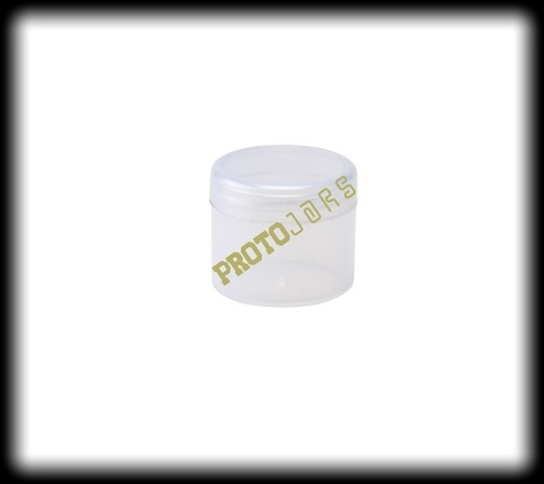 25 ML Clear Plastic Jar