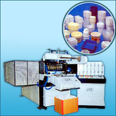 INDIAN MADE PAPER AND DISPOSABLE CUP GLASS FORMING MACHINE MANUFACTURES