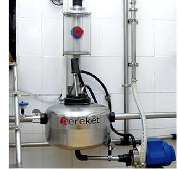 Stainless Steel Milk Receiver