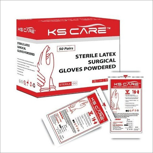 Sterile Surgical Gloves Powdered