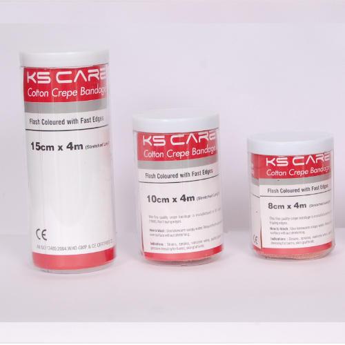 Cotton Crepe Bandage (Plastic Jar)