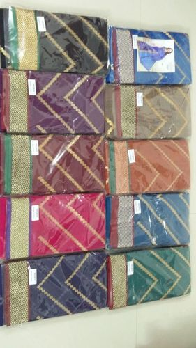 AURA GAYATHRI EMBRO Cotton Sarees