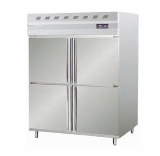 Four Door Stainless Steel Refrigerator