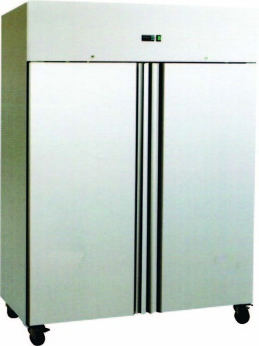 Two Door Stainless Steel Refrigerator