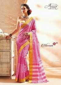 AURA ROSE Cotton Sarees
