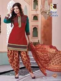 ROYAL PATIYALA Cotton Suits