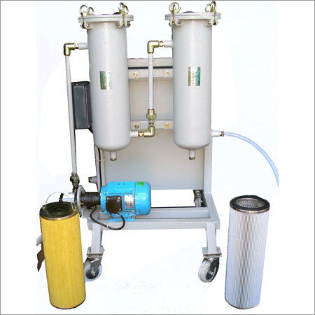 TWO STAGES FILTER CART