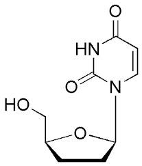2',3'-Dideoxyuridine