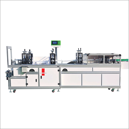 Ultrasonic Bouffant Cap Making Machine