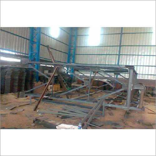 Pipe Rack In Mock Up Condition