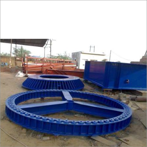 Wind Mill Fabricated Blade Testing Bed