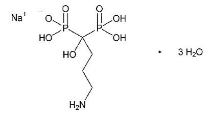 Alendronate sodium trihydrate