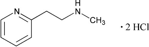 Betahistine Hydrochloride