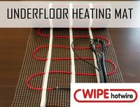 Underfloor Heating Mat Twin Cable