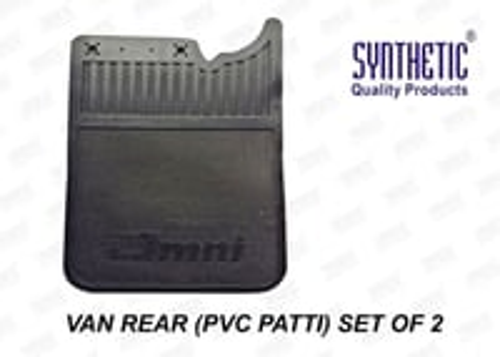 Mud Flaps Van Rear PVC Patti