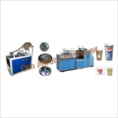 Disposable Pattal Dona Making Machine