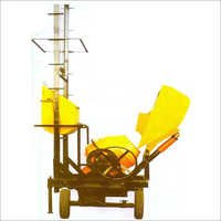 Two Pole Lift Mixer with Hydraulic Hopper