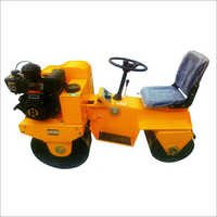 Double Drum Mini Roller With Seat Drive