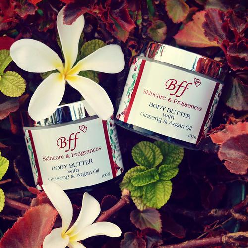 Body Butter With Ginseng & Argan Oil