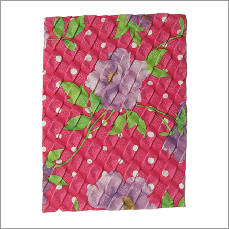Flower Printed Artificial Leather
