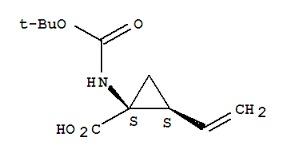 (1R,2S)-1-tert-Butoxycarbonylamino-2-vinylcyclopr
