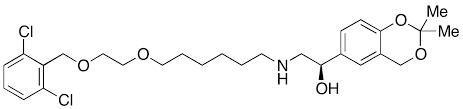 (1R)-2-[[6-[2-[(2,6-Dichlorobenzyl)oxy]ethoxy]hex
