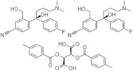 (-)-4-(4-Dimethylamino)-1-(4-fluorophenyl)-1-(hyd