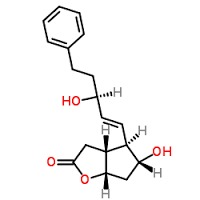 (+)-(3aR,4R,5r,6aS)-Hexahydro-5-hydroxy-4-[(1E,3R