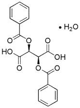 (+)-Dibenzoyl-D-tartaric acid monohydrate