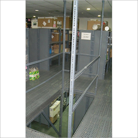 2 Tier Rack with Mezzanine