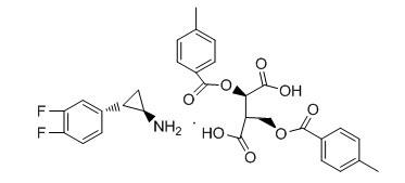 (1R-2R)-2-(3,4-diflrorophenyl)cyclopropanamine(R)-