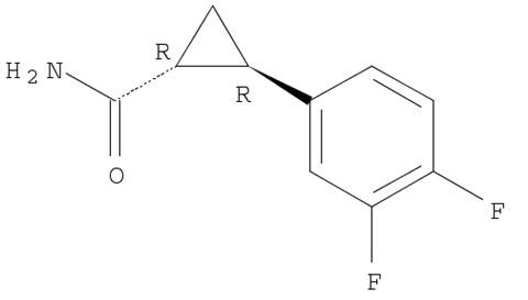 (1R-2R)-2-(diflrorophenyl)cyclopropanecarboxamide
