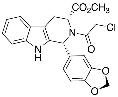 (1R,3R)-1-(1,3-Benzodioxol-5-yl)-2-(chloroacetyl)-