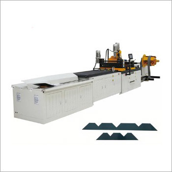 Transformer lamination Swing Cut to Length Machine