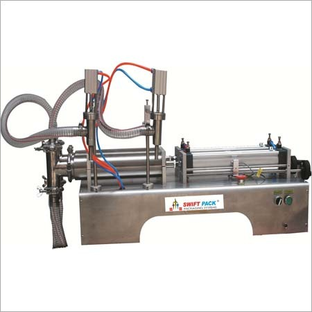 Double Nozzle Liquid Filling Machine