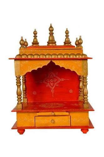 Handicrafted Wooden Temple