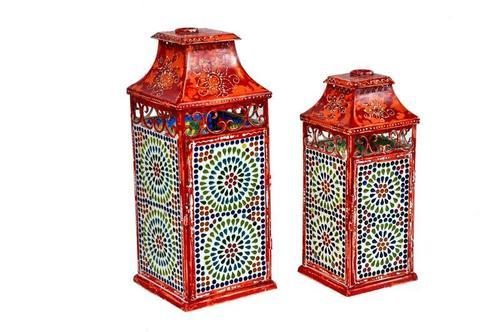 Iron Lamp Vase
