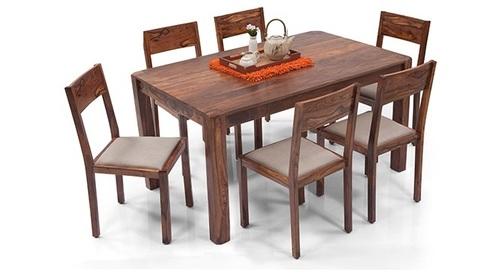 Acacia Wood Dining Set