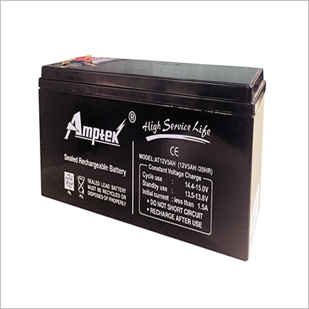 SMF Industrial Battery 12V5AH