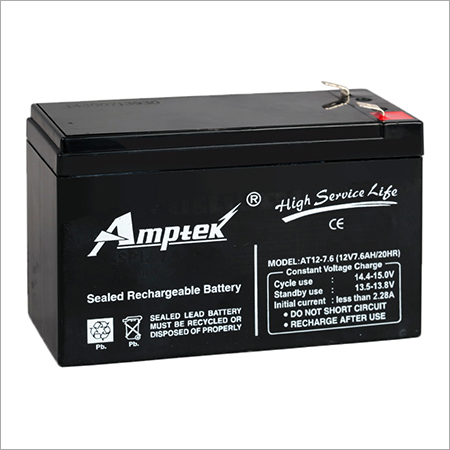 SMF Industrial Battery 12V7.6AH
